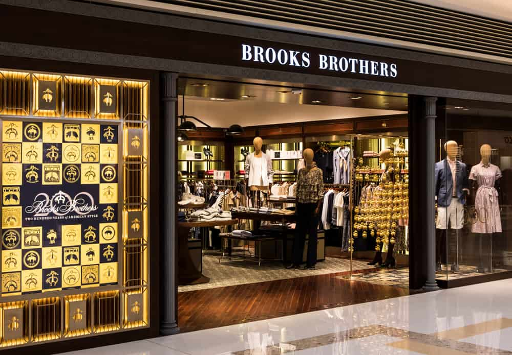 brooks brothers store entrance