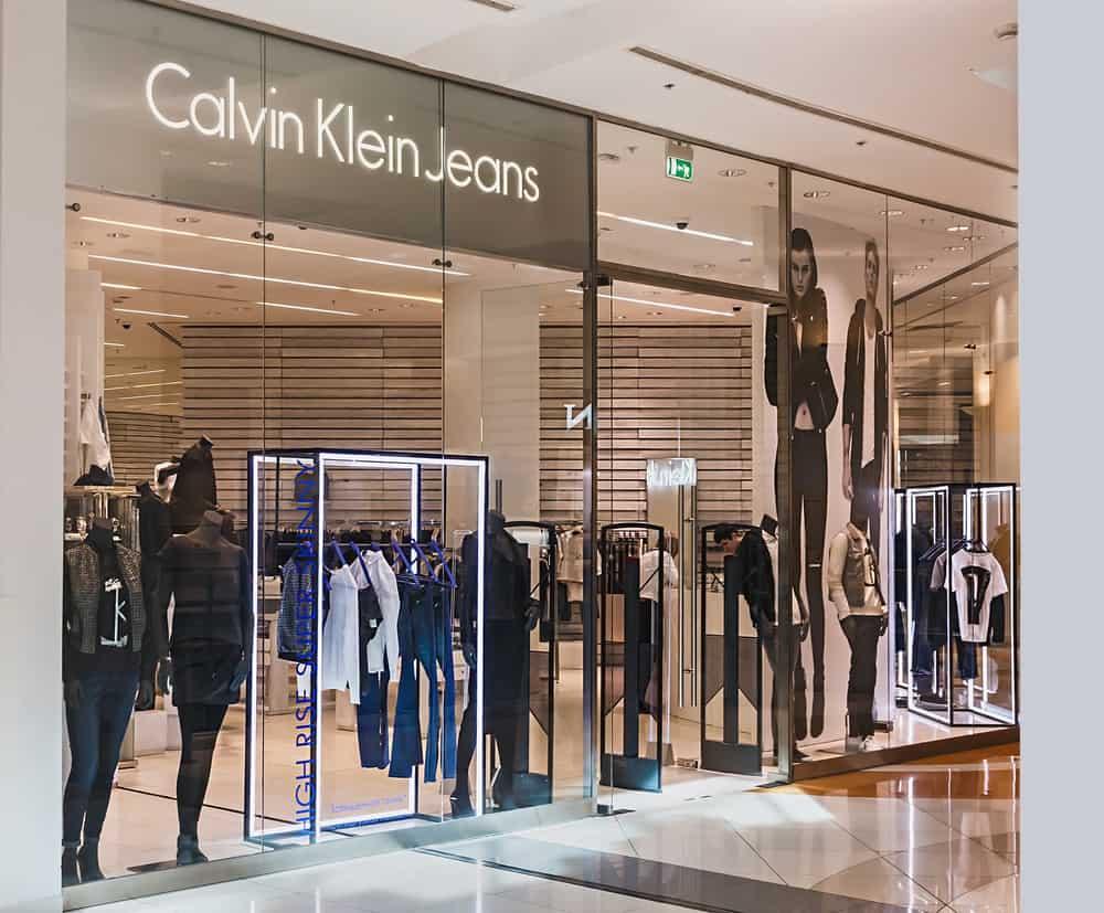 calvin klein storefront