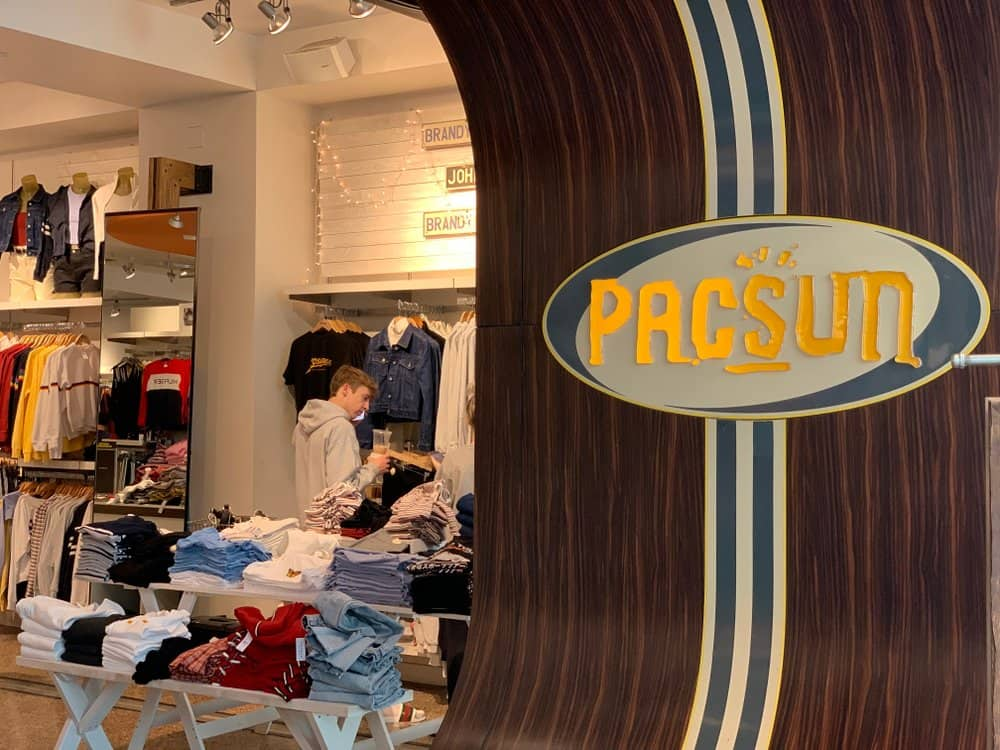 pacsun clothing store