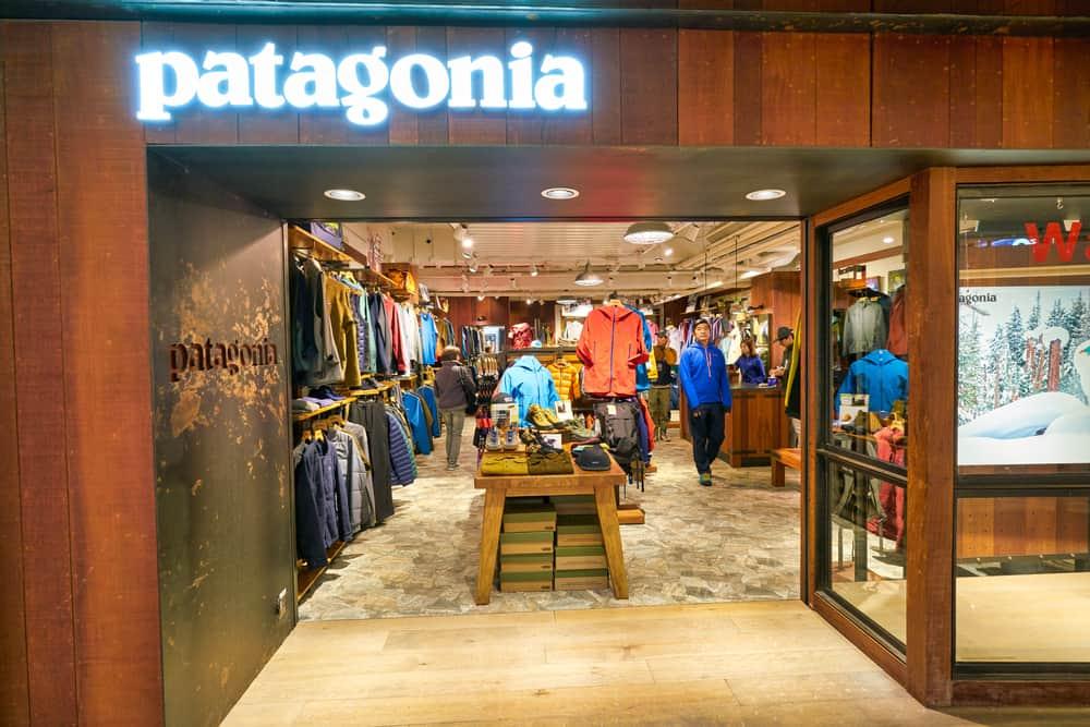 patagonia storefront