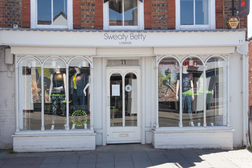 sweaty betty storefront