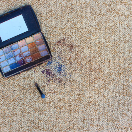 How to Get Makeup Out of Carpet by Makeup Type