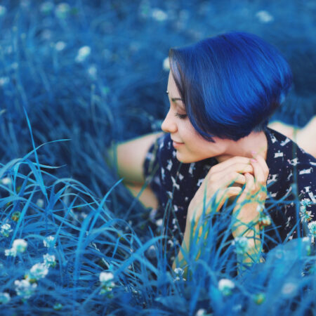 50 Stunning Blue Hair Ideas for a Bold Statement