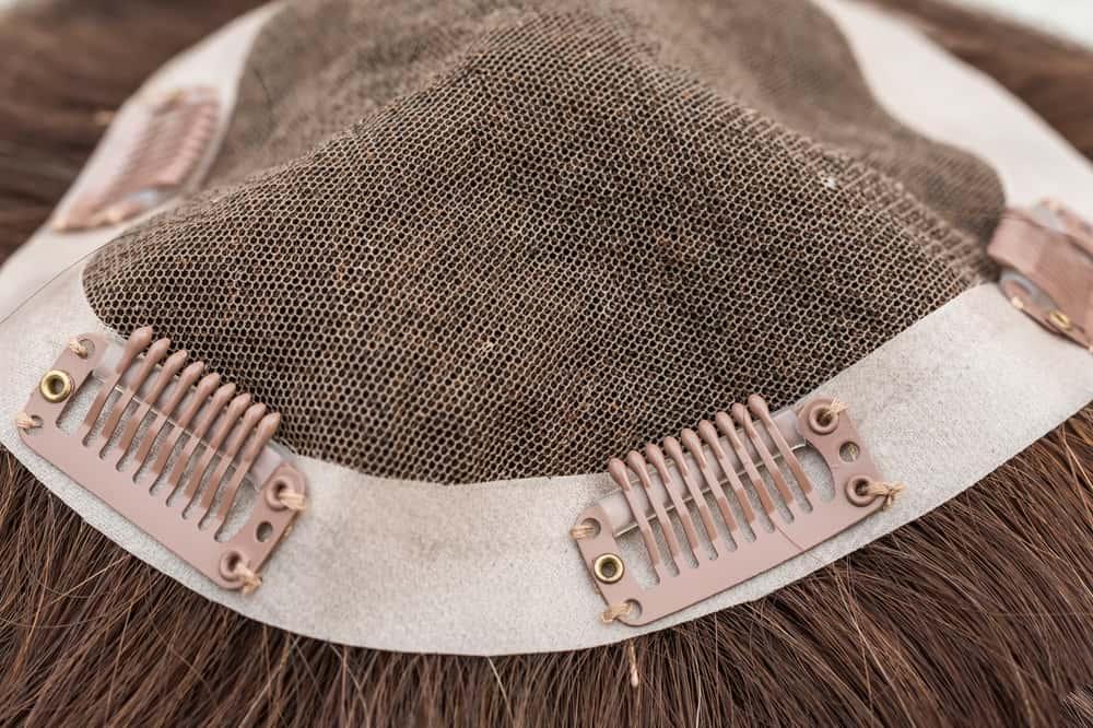 inside of hair topper