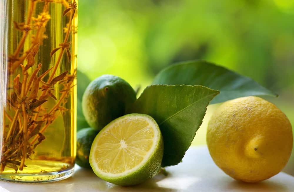 lemons and vinegar