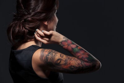 How to Perfectly Cover up a Tattoo With Makeup