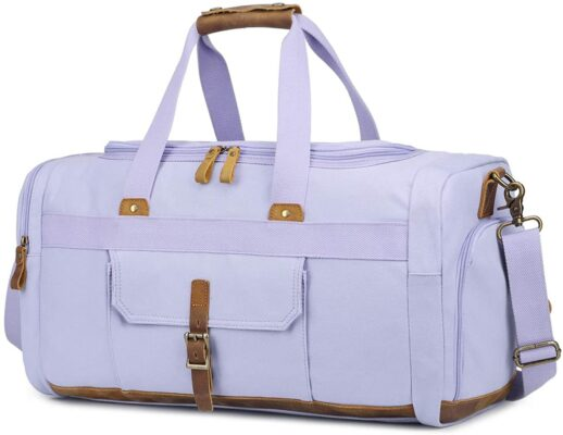 BLUBOON Weekender Overnight Duffel Bag